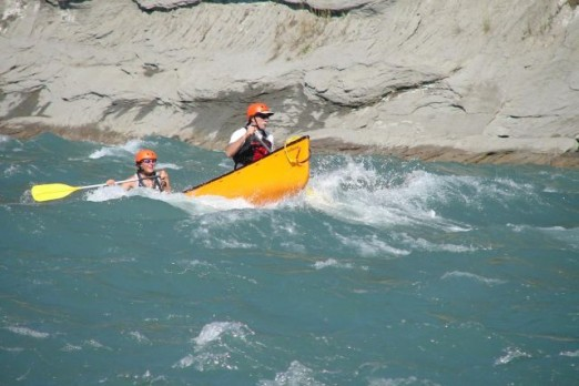 White Water Rodeo through the North Saskatchewan River ~ Devil's Elbow!
