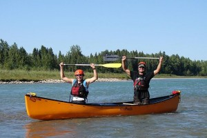 Canoeing the North Saskatchewan River